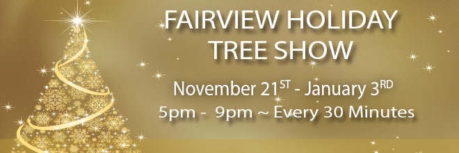 fairview holiday tree show